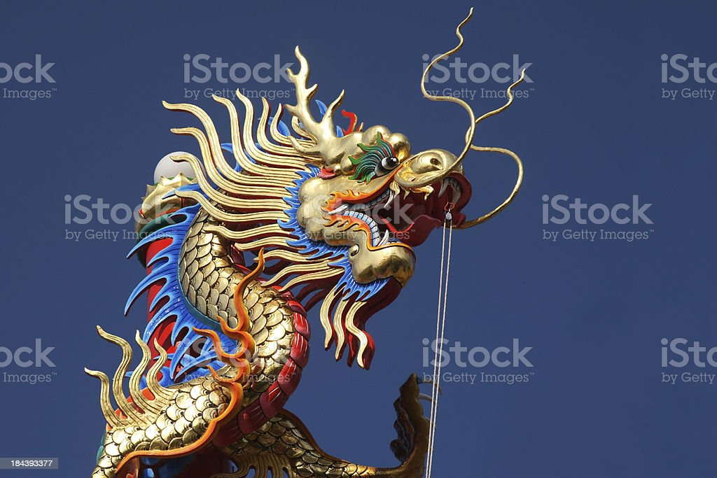 Dragon at Chinese Temple,XXL stock photo