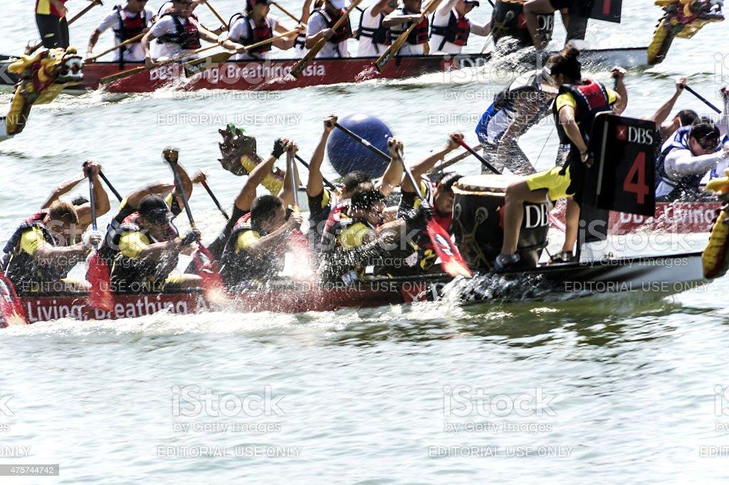 Dragon Boat stock photo