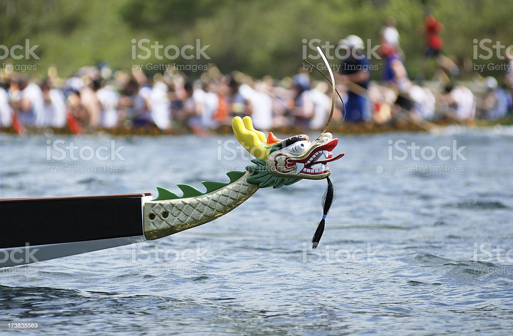 Dragon boat race royalty-free stock photo