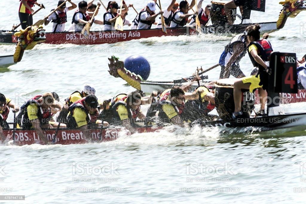 Dragon Boat Race stock photo