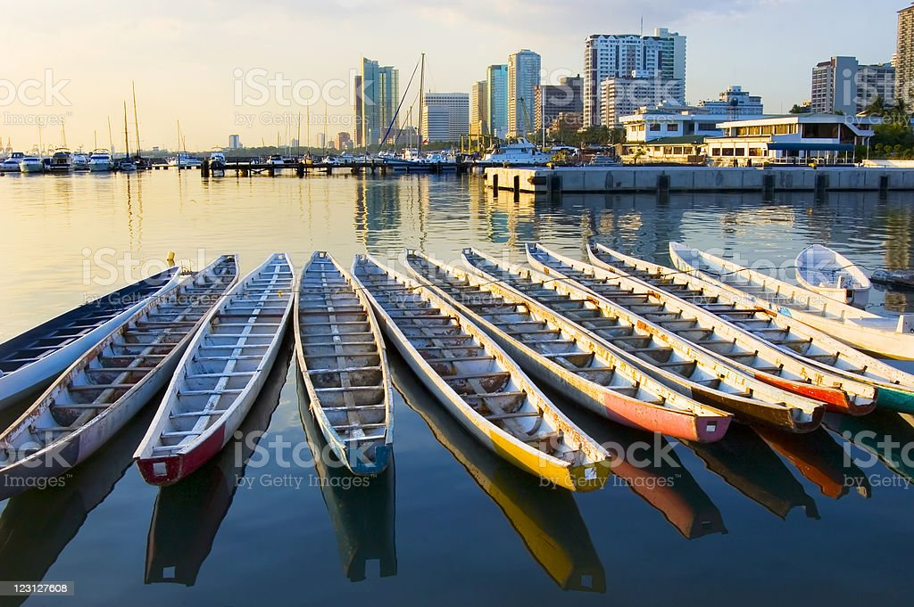 Dragon Boats stock photo