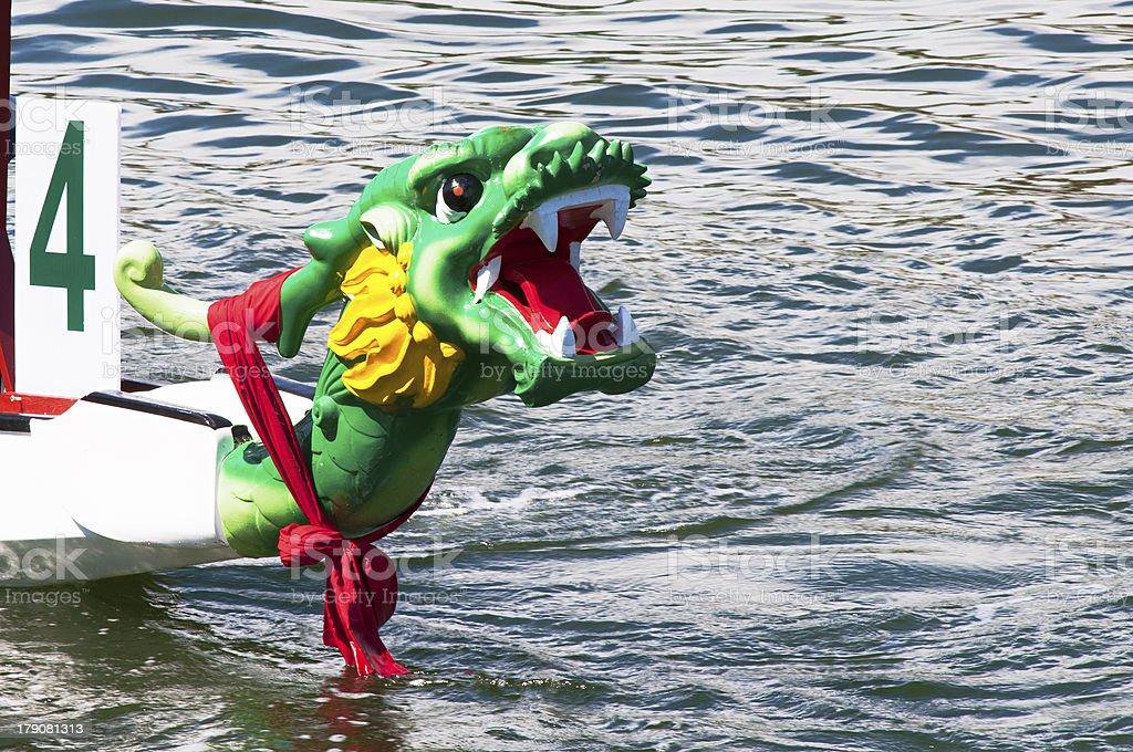 dragon boats royalty-free stock photo