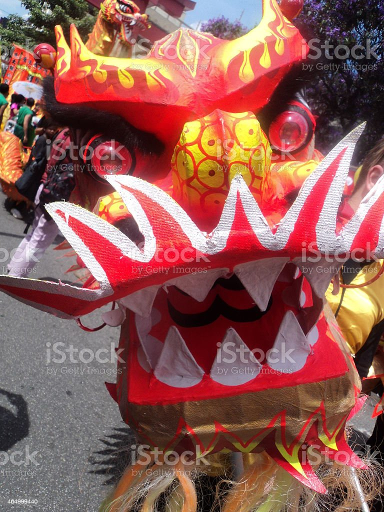Chines dragon stock photo