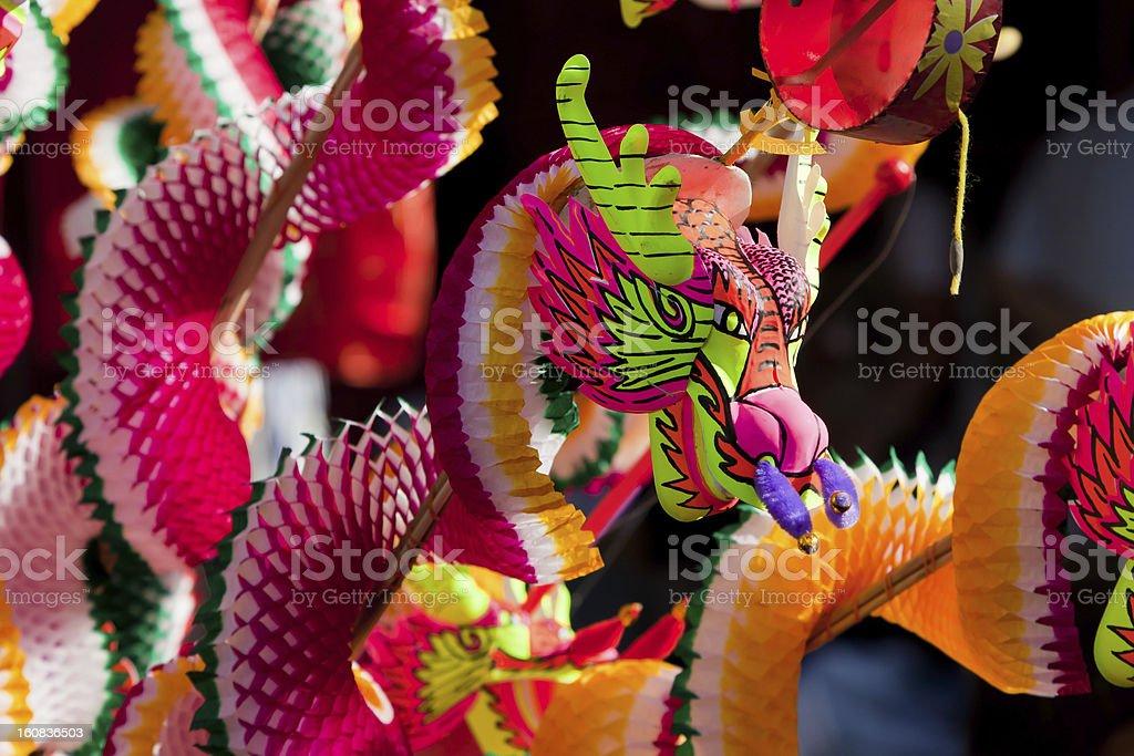 Dragon - Chinese New Year stock photo