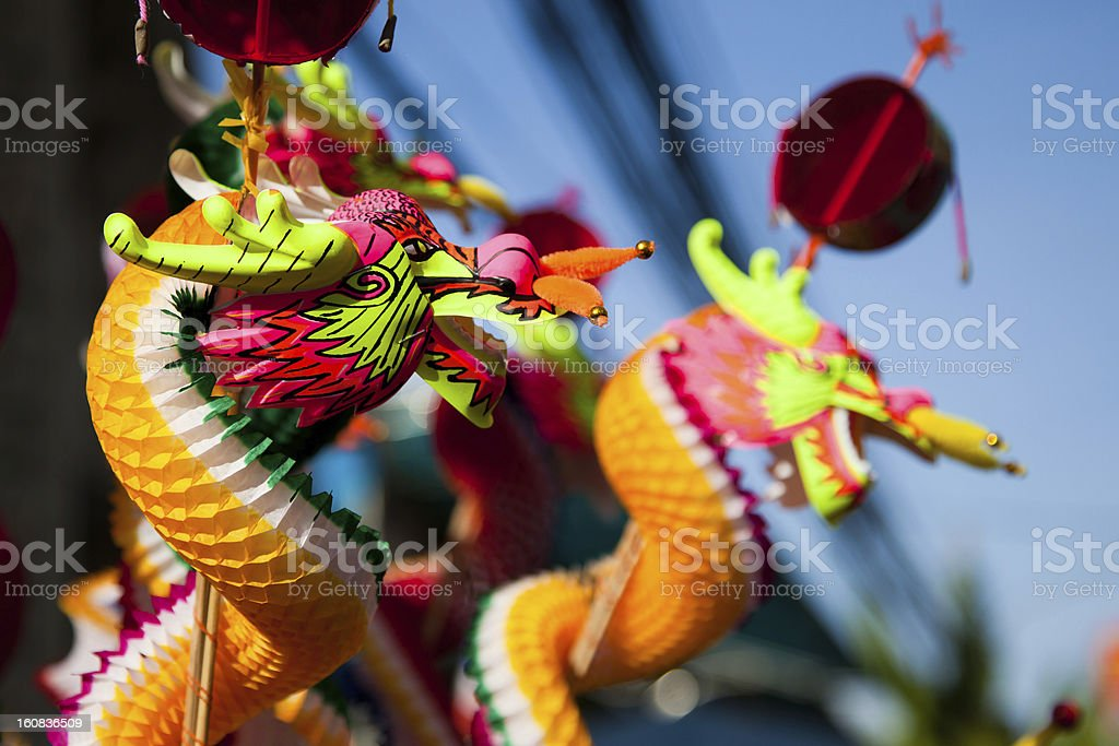 Dragon - Chinese New Year stock photo