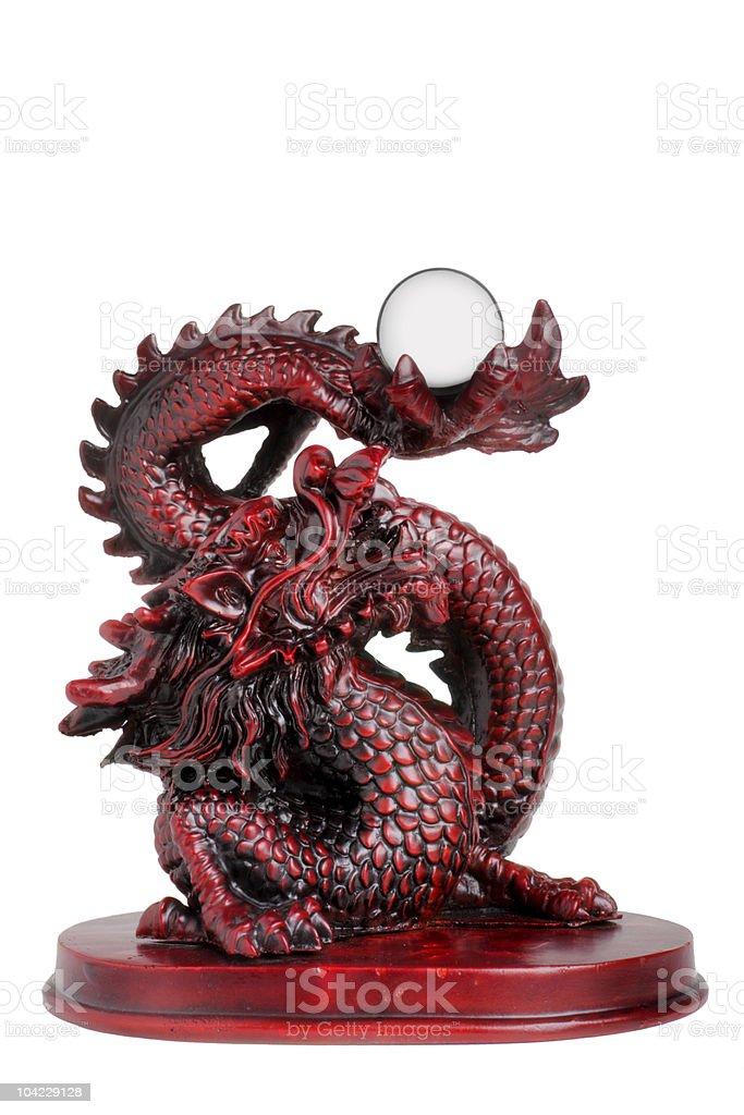 Dragon figurine royalty-free stock photo
