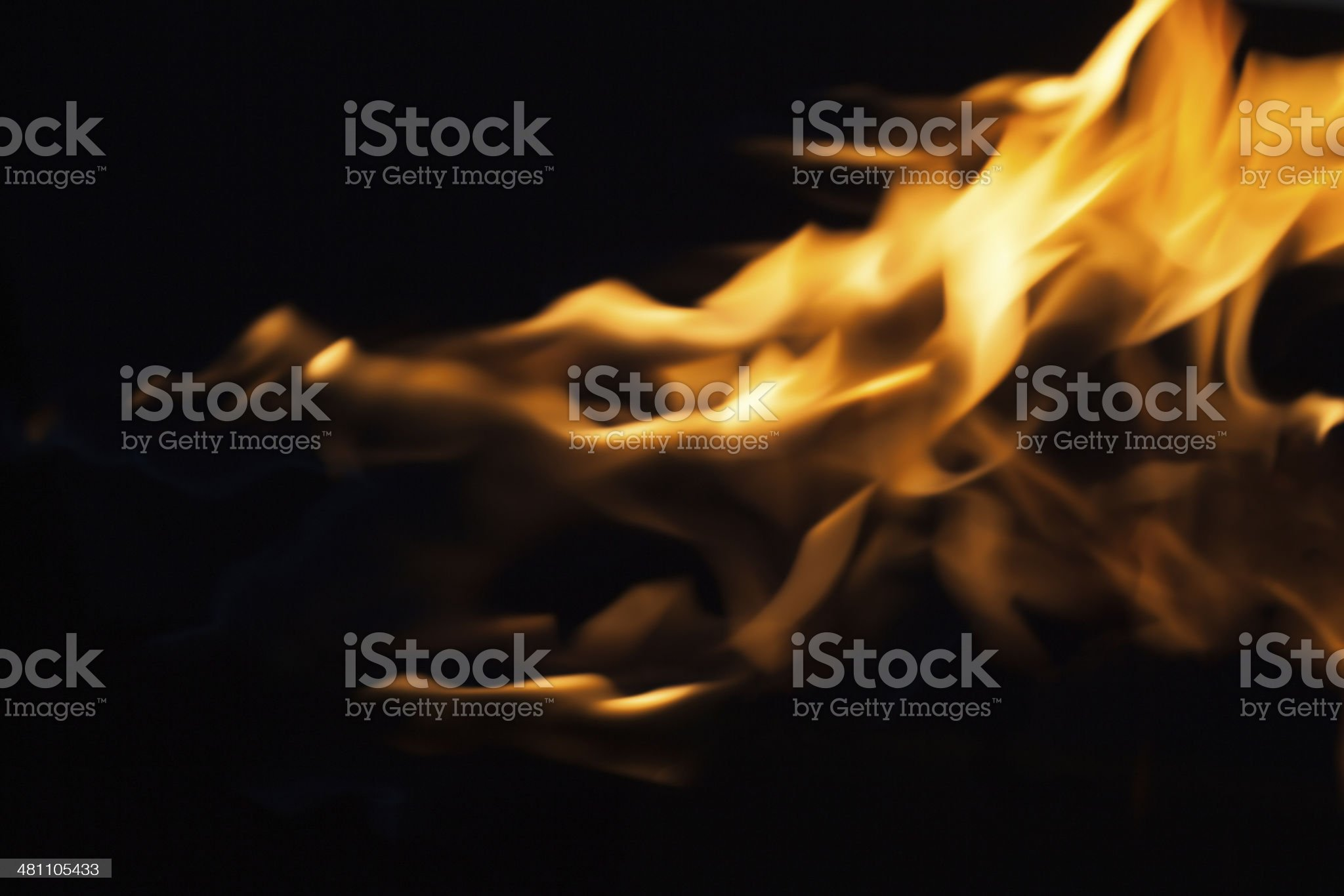 Dragon Fire Flames royalty-free stock photo
