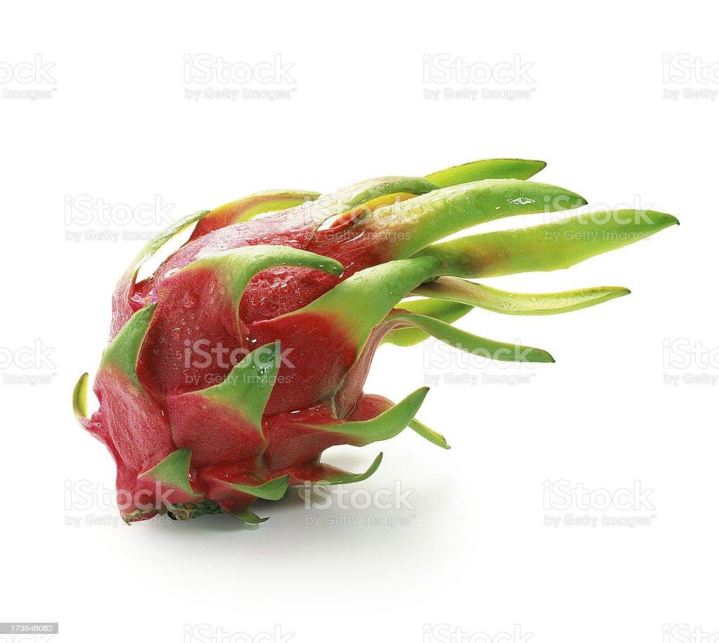 Dragon Fruit single royalty-free stock photo