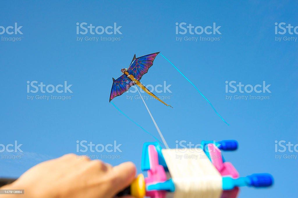 Dragon kite royalty-free stock photo