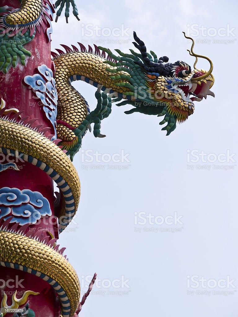 Dragon royalty-free stock photo