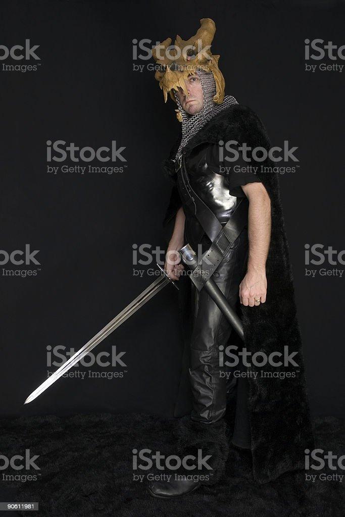Dragon Slayer 03 royalty-free stock photo