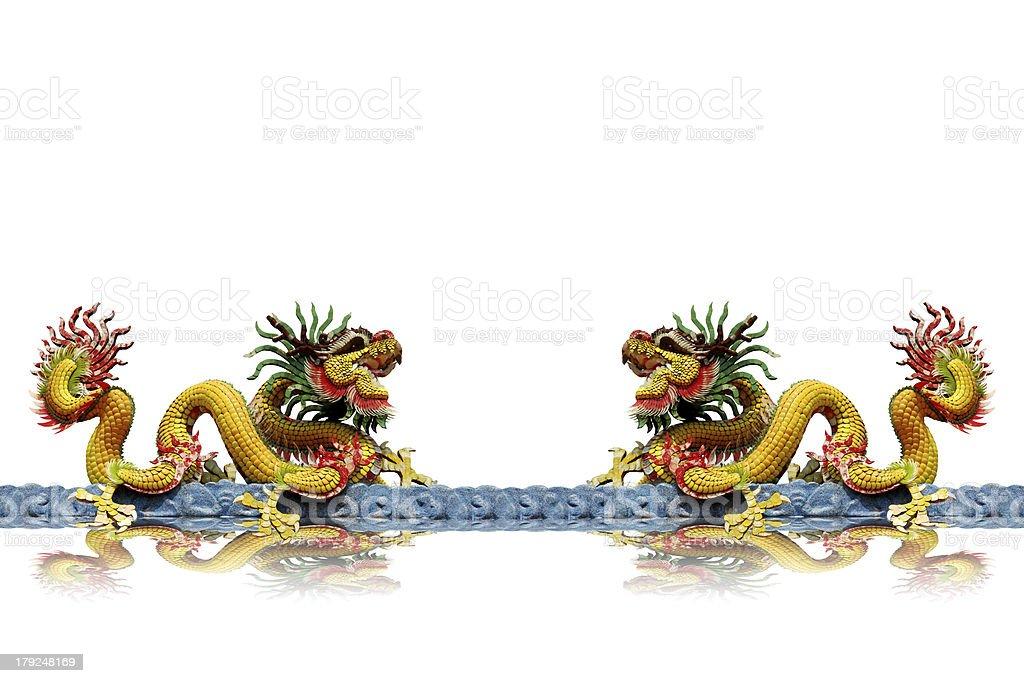 Dragon statue royalty-free stock photo