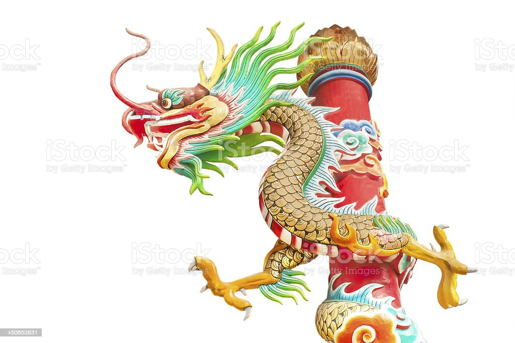 dragon statue royalty-free stock photo