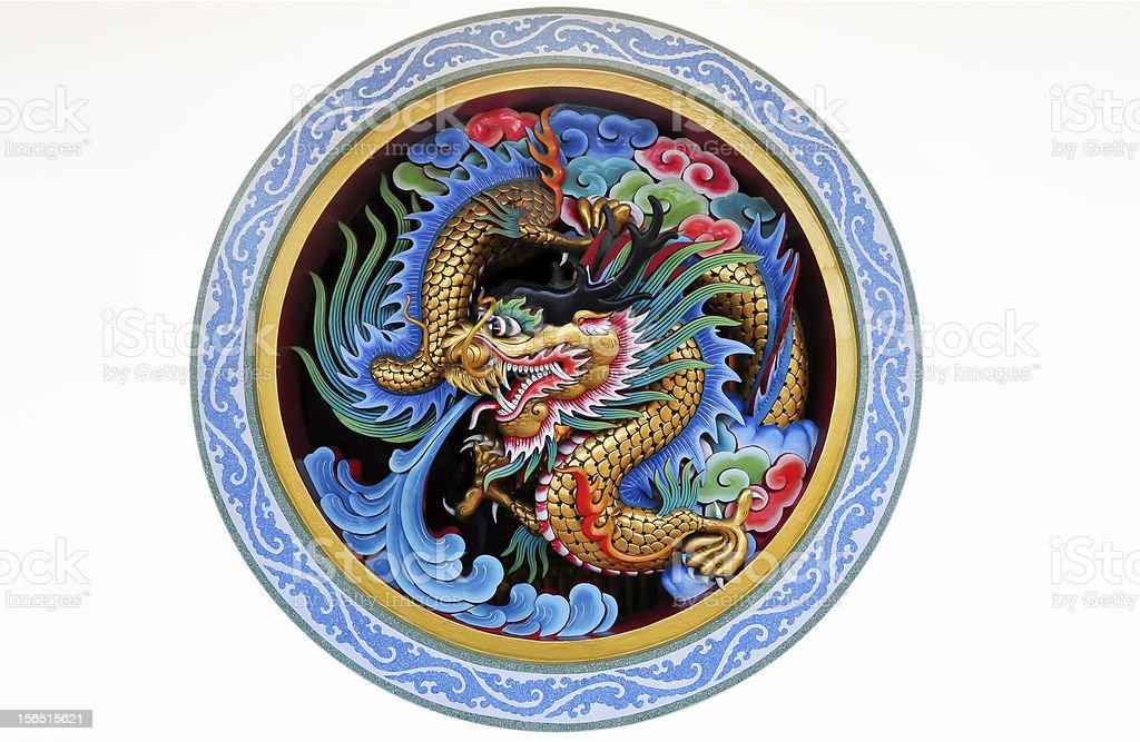 Dragon status royalty-free stock photo