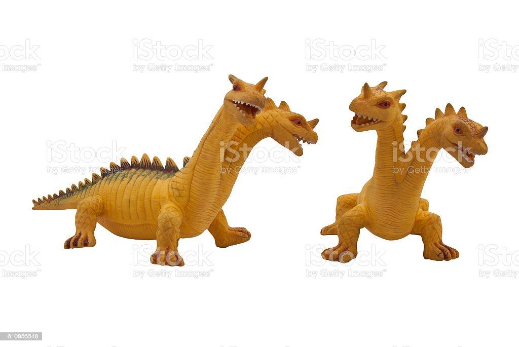 Dragon toy photo. stock photo