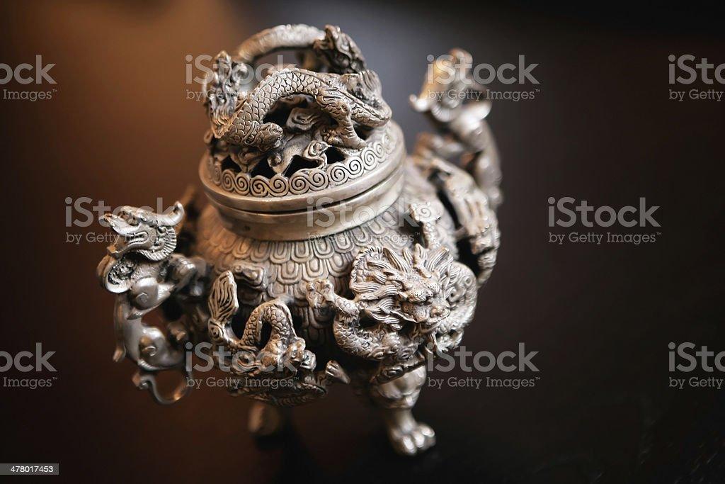 Dragon Vase stock photo