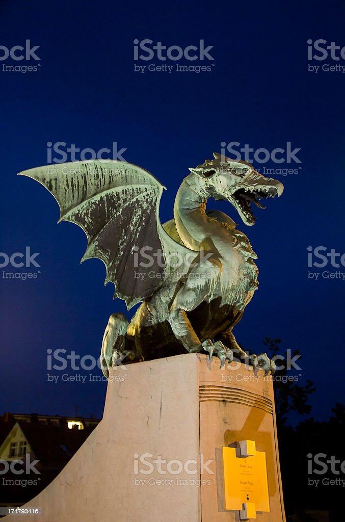 Dragon-brdige's dragon royalty-free stock photo