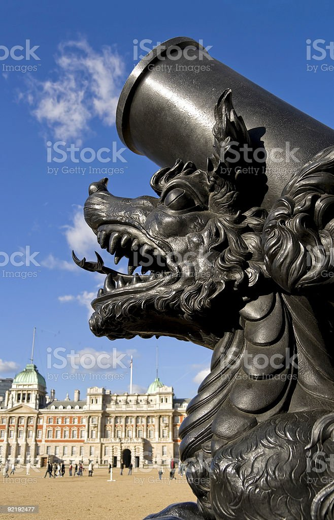 Dragon's breath stock photo