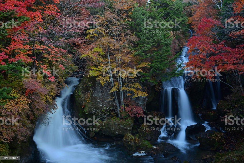 Dragon's Head Waterfall stock photo