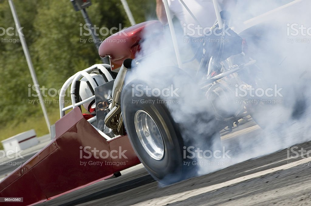 Dragster royalty-free stock photo