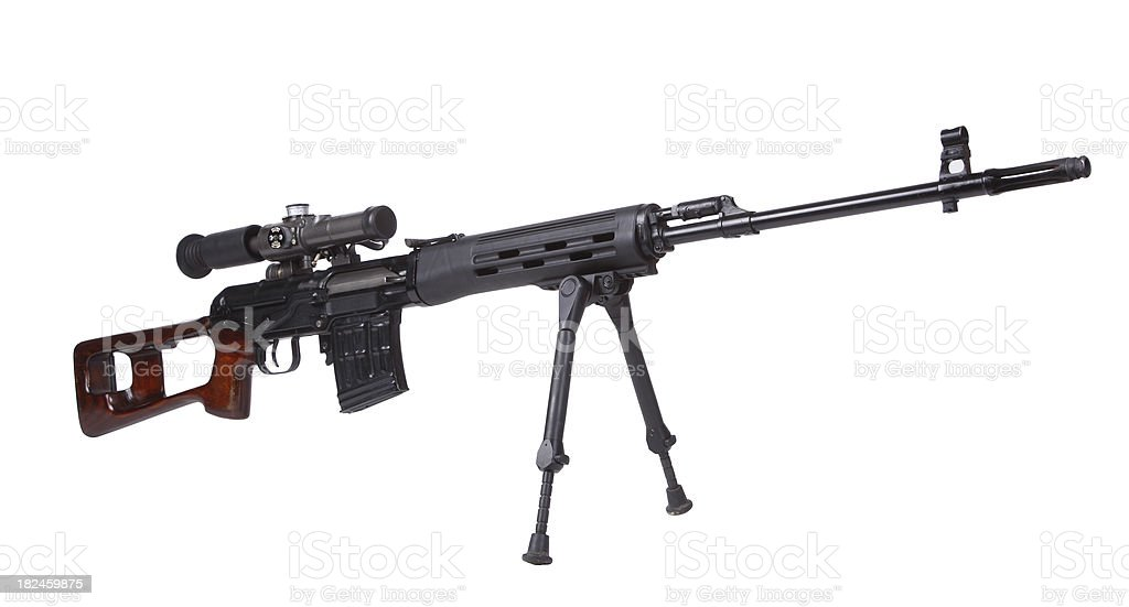 Dragunov SVD royalty-free stock photo