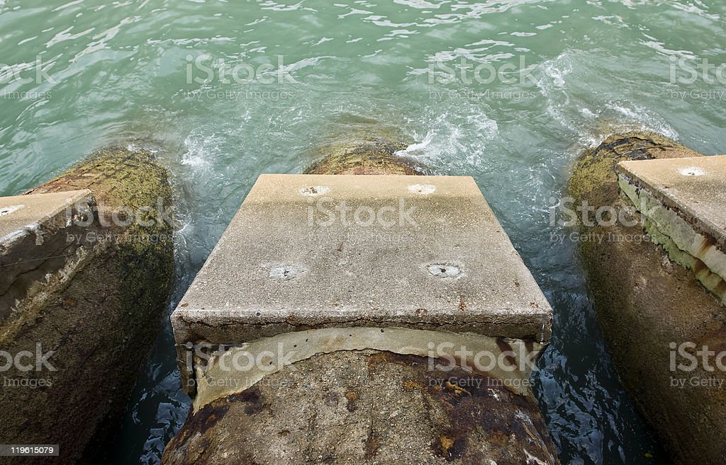 Drainage royalty-free stock photo