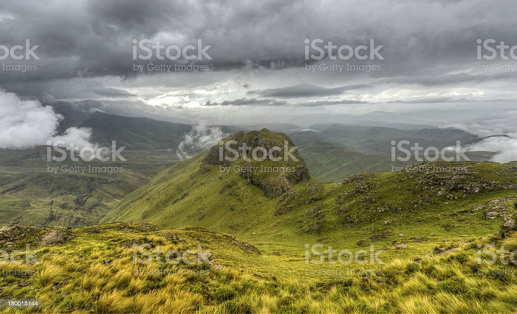 Drakensberg Mountains royalty-free stock photo