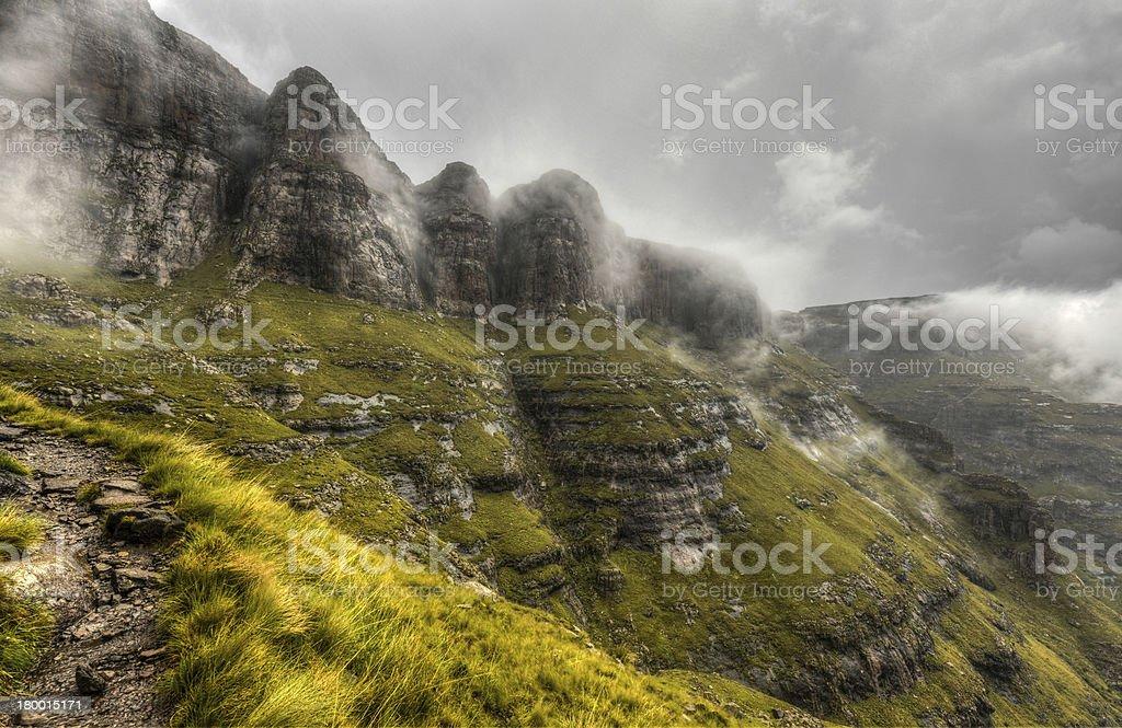Drakensberg Mountains royalty-free stock photo