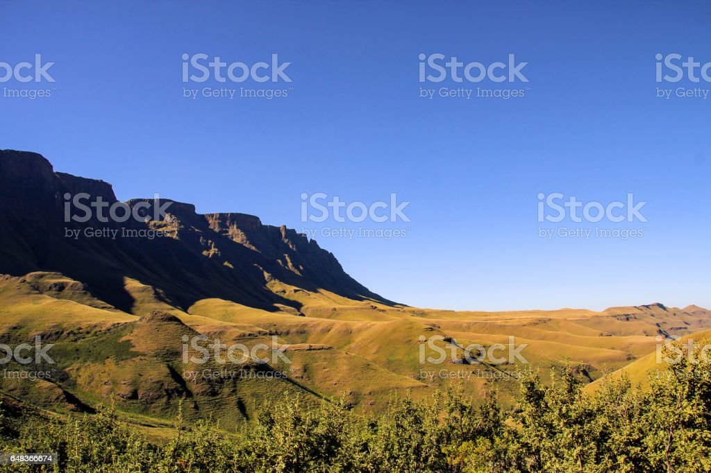 Drakensberg, South Africa stock photo