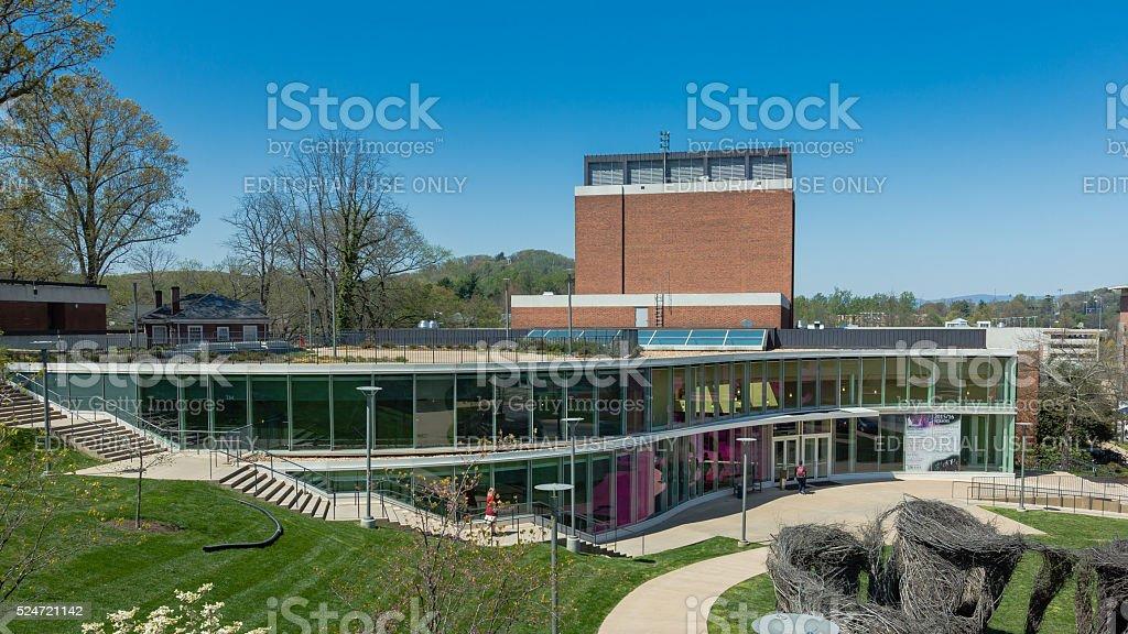 Drama Building at UVA stock photo