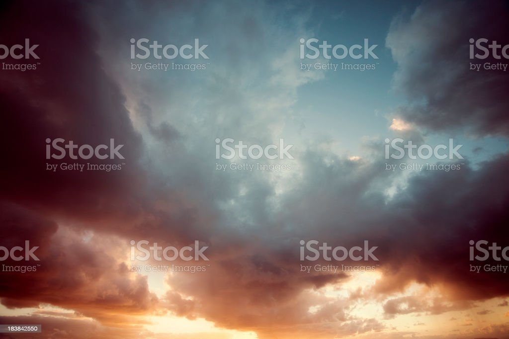 Drama in the Sky royalty-free stock photo