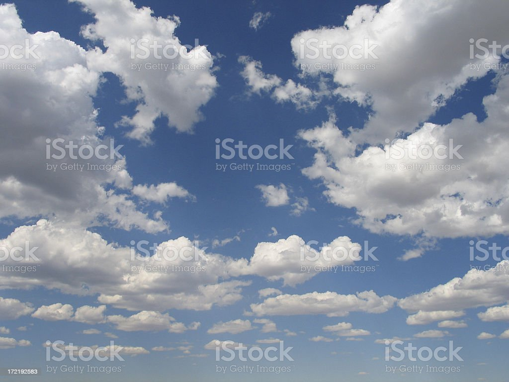 Dramatic Cloudscape royalty-free stock photo