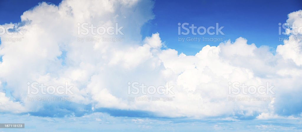 Dramatic Cloudy Sky . royalty-free stock photo