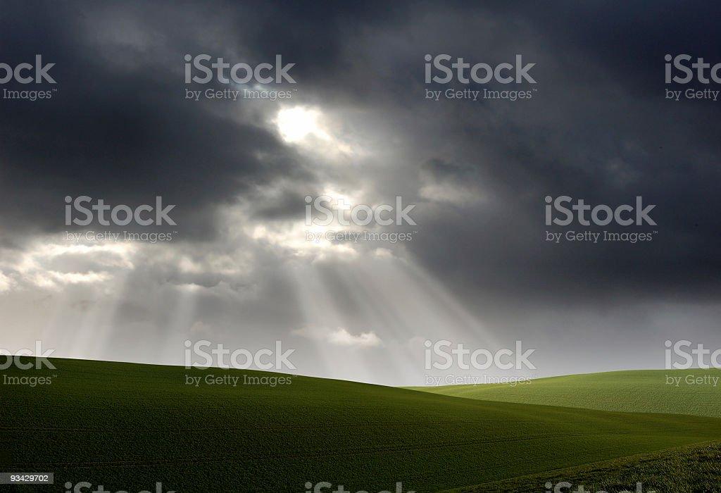 Dramatic Landscape royalty-free stock photo