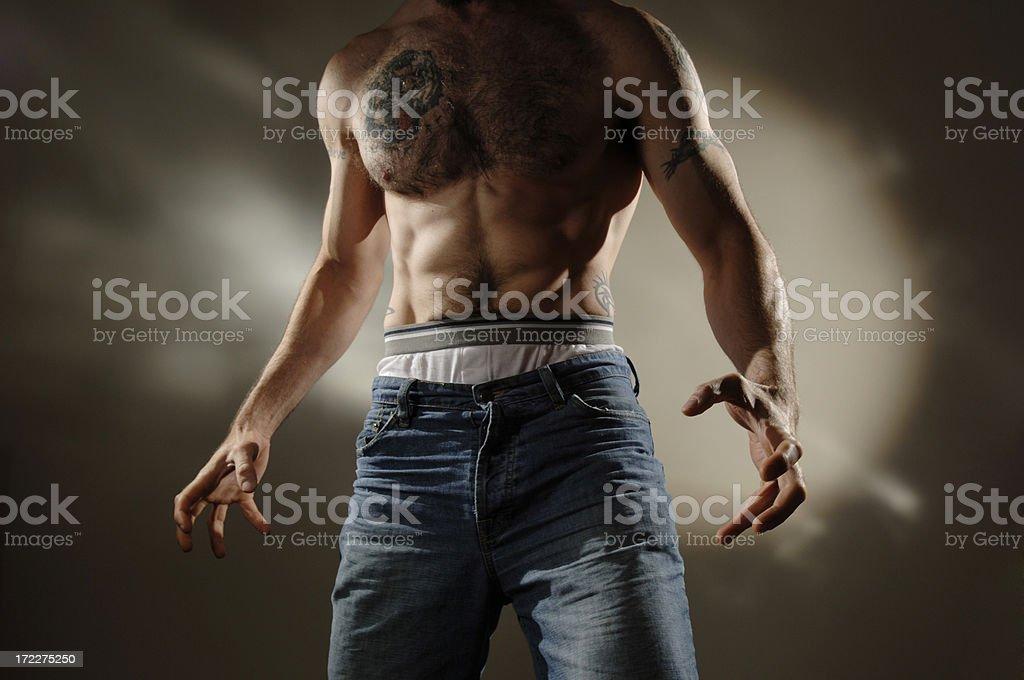 dramatic man series royalty-free stock photo