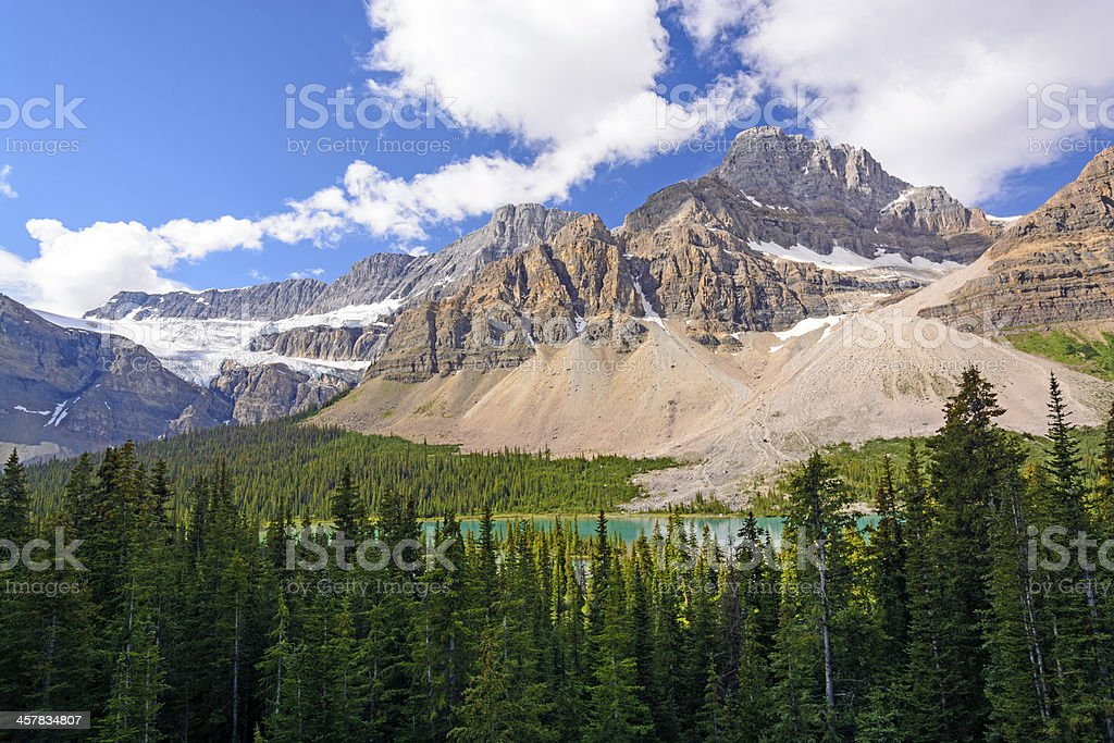 Dramatic Mountains on a Summer Day stock photo