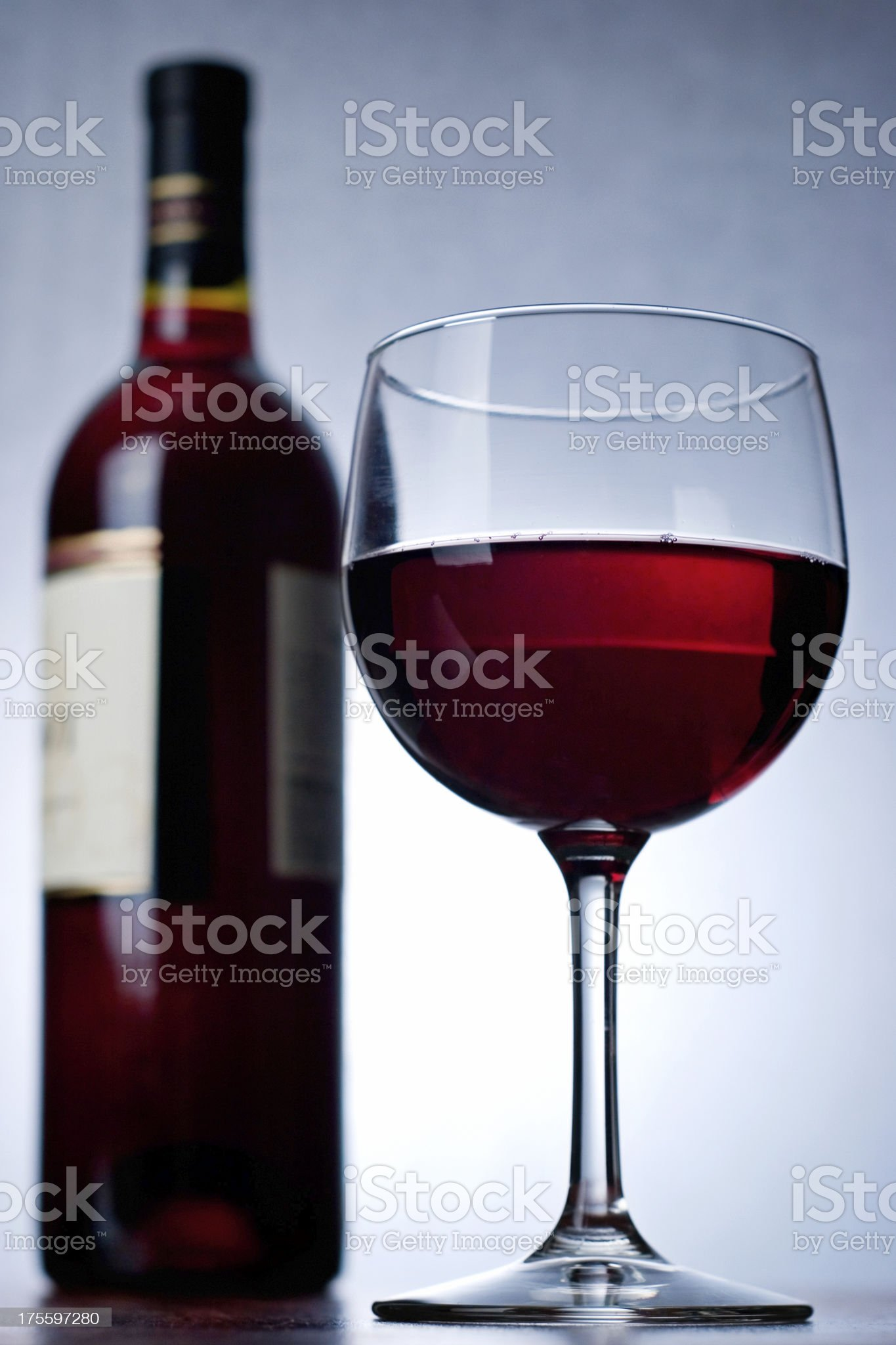 Dramatic Red royalty-free stock photo