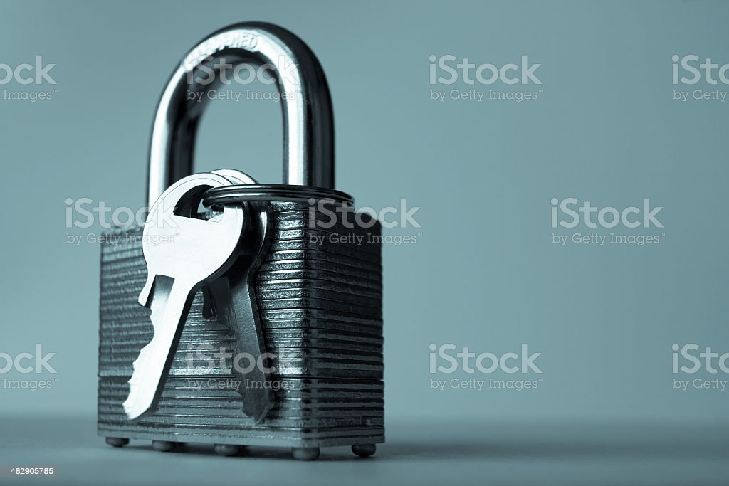 Dramatic Security stock photo
