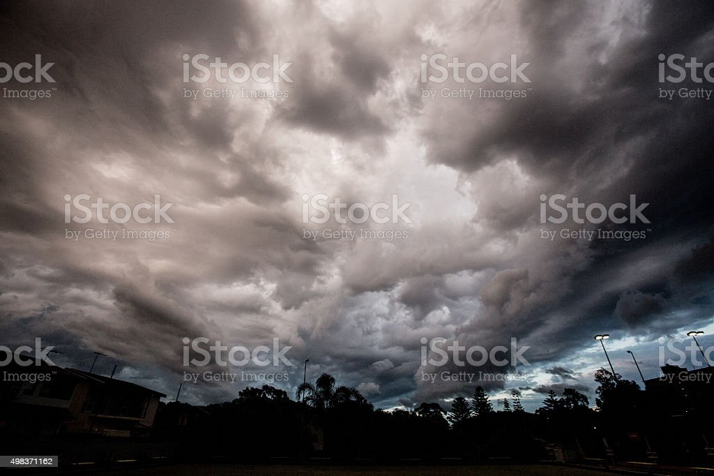 Dramatic Skies stock photo