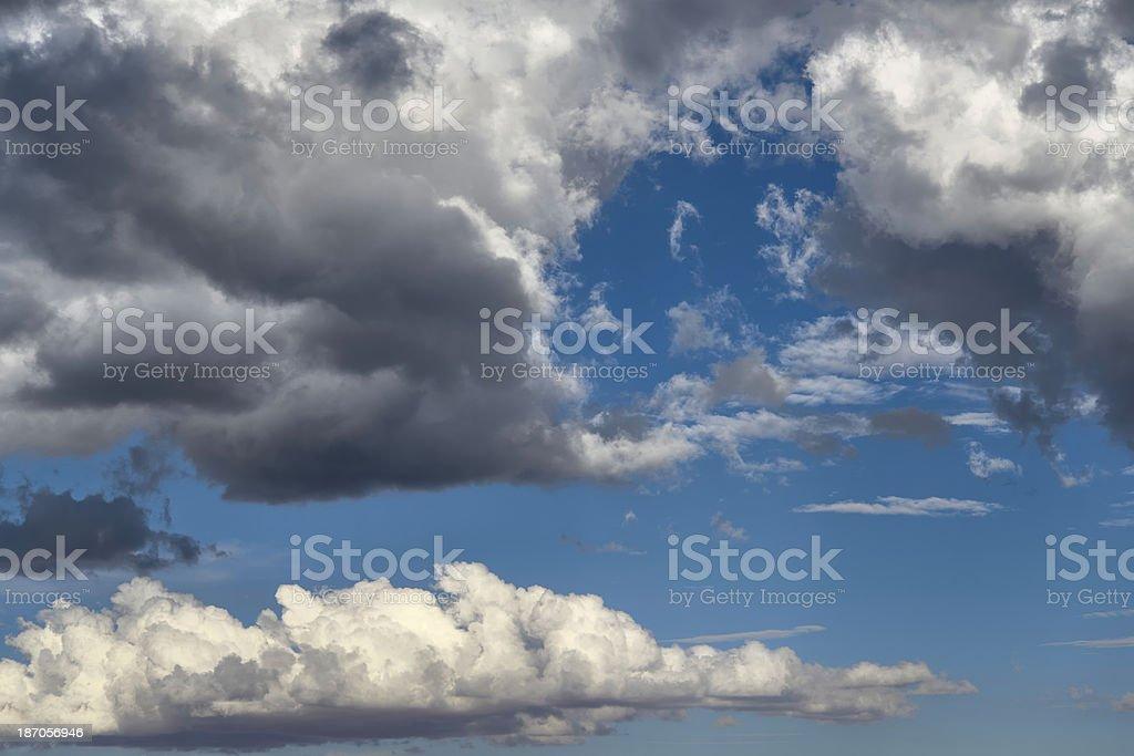 Dramatic Sky, Arizona royalty-free stock photo