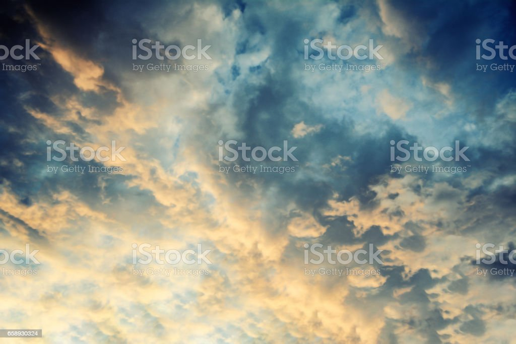 dramatic sky  background stock photo