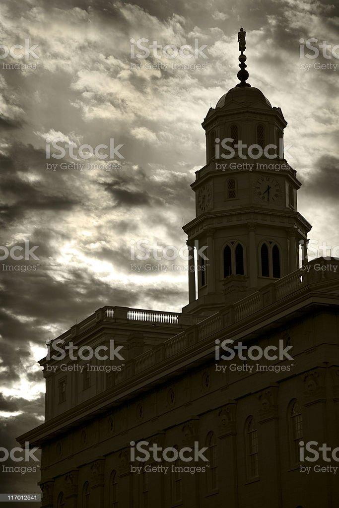 dramatic sky royalty-free stock photo