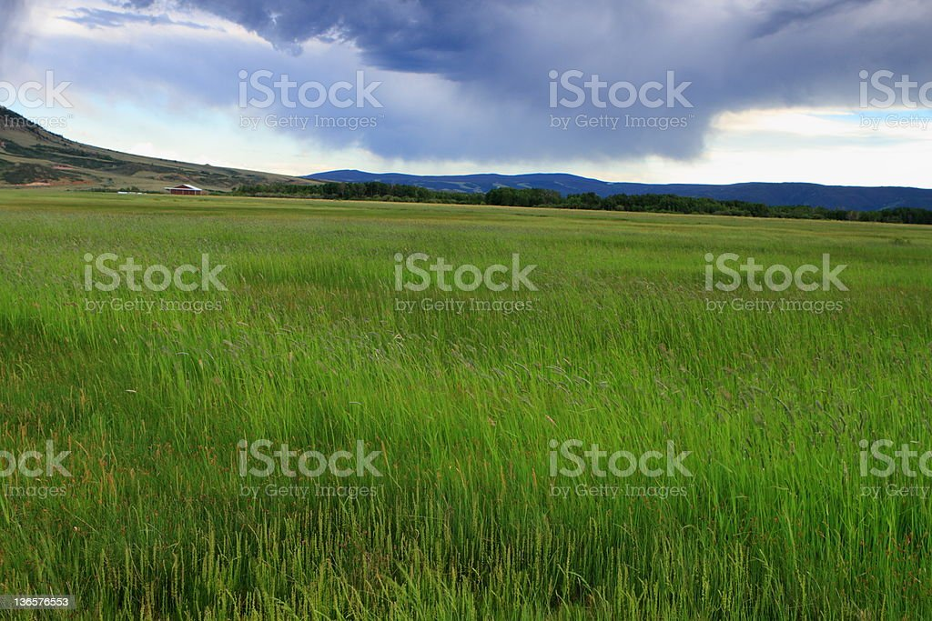 Dramatic sky royalty-free stock photo