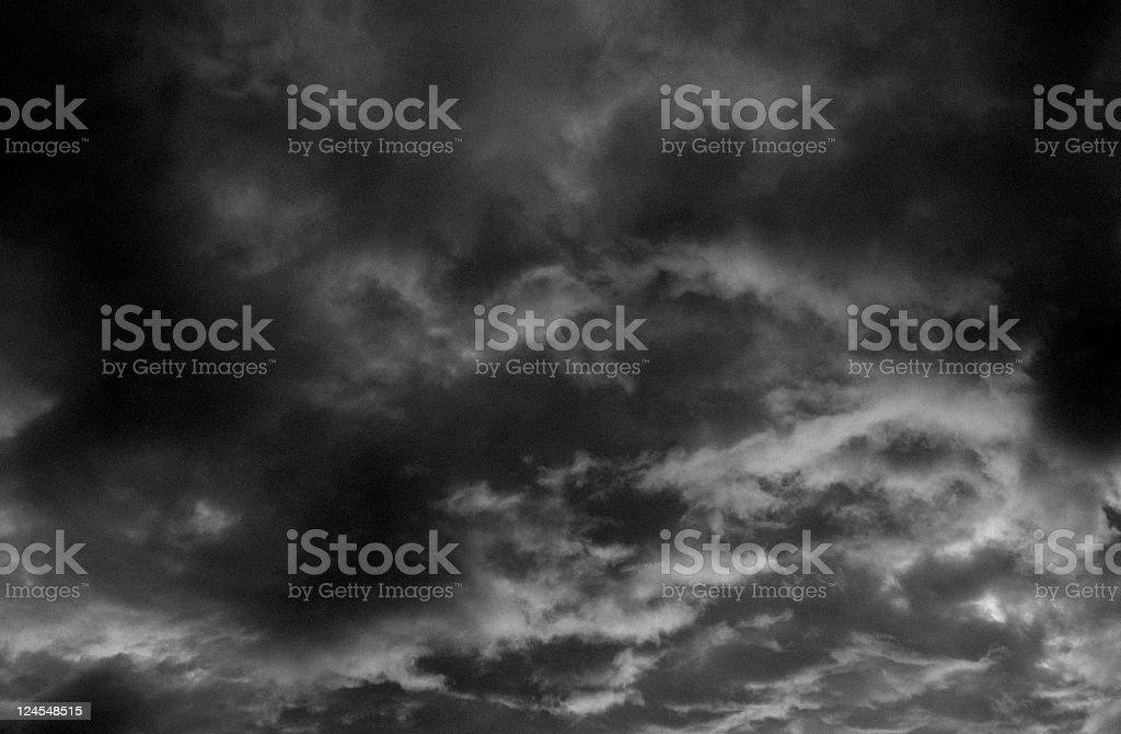 Dramatic Storm stock photo