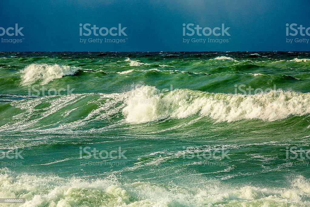 dramatic storm stock photo
