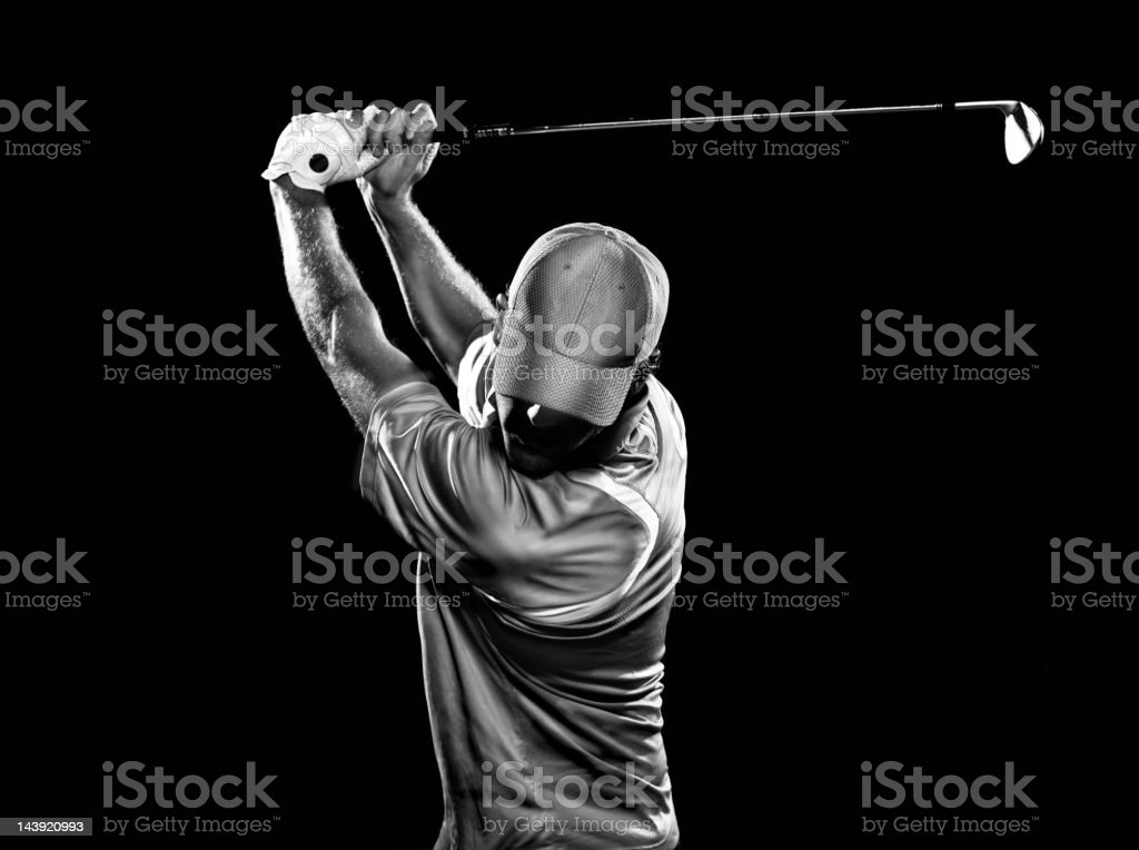 Dramatic Swing stock photo