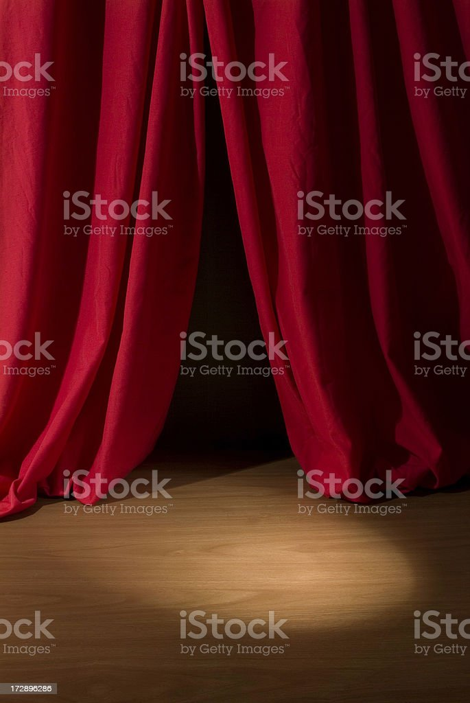 Dramatic Theater royalty-free stock photo