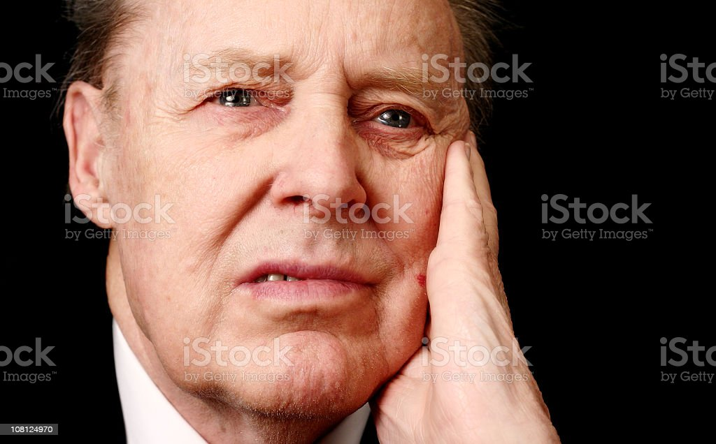 Dramatical Father royalty-free stock photo