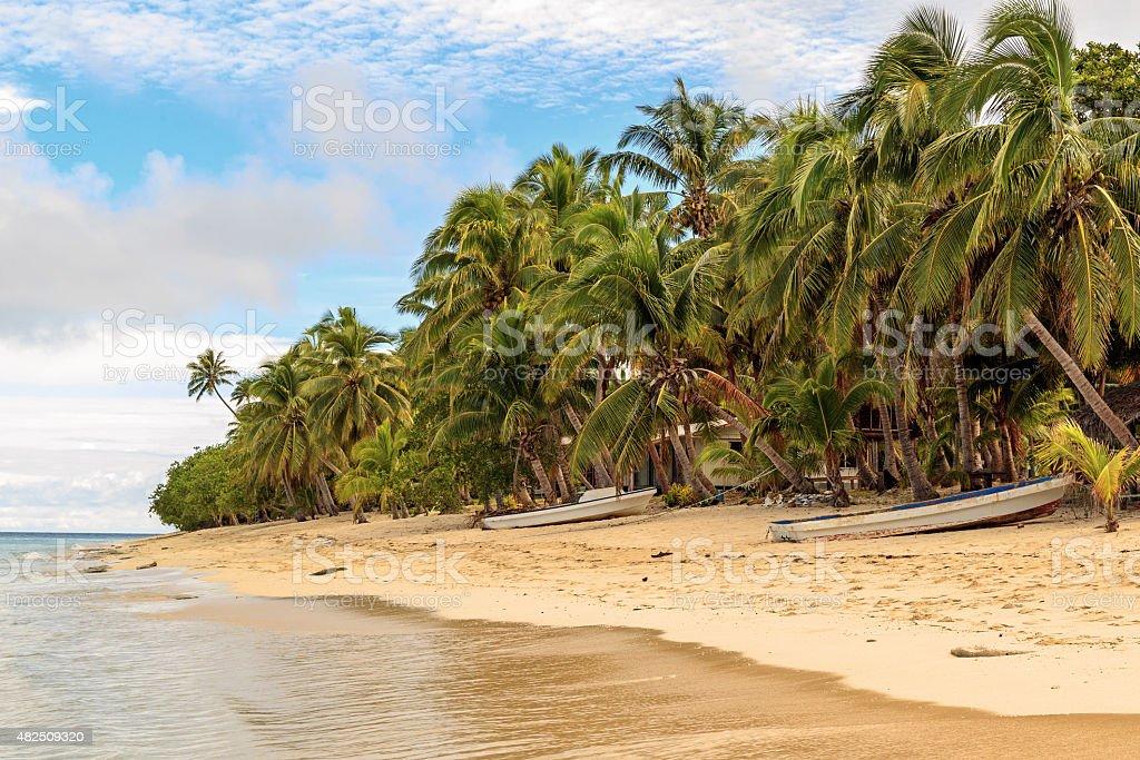Dravuni Island stock photo