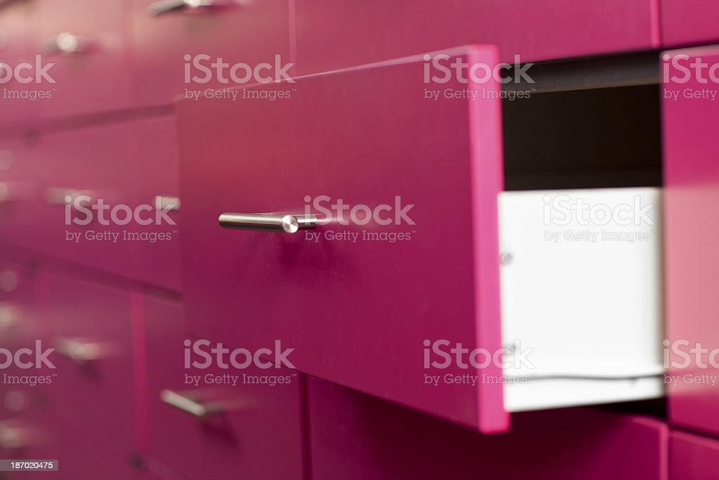 Drawer. royalty-free stock photo